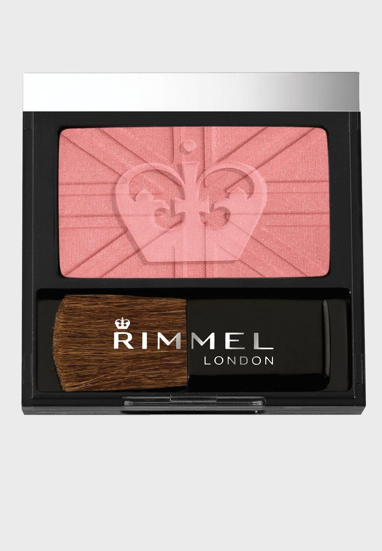 Lasting Finish Soft Colour Blush with brush- 120 Pink Rose