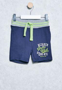 Infant Fleece Shorts