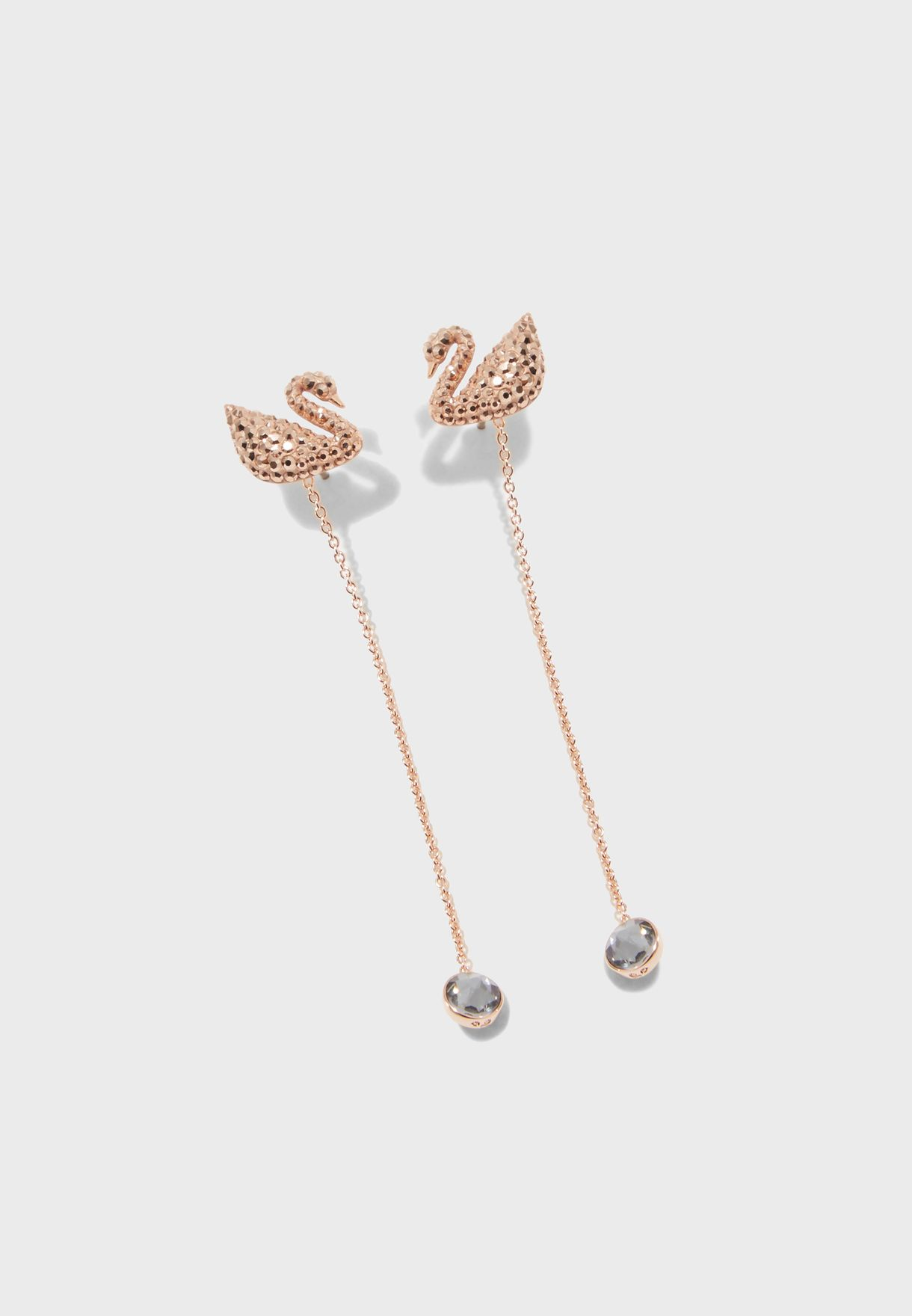 Iconic Swan Drop Earrings