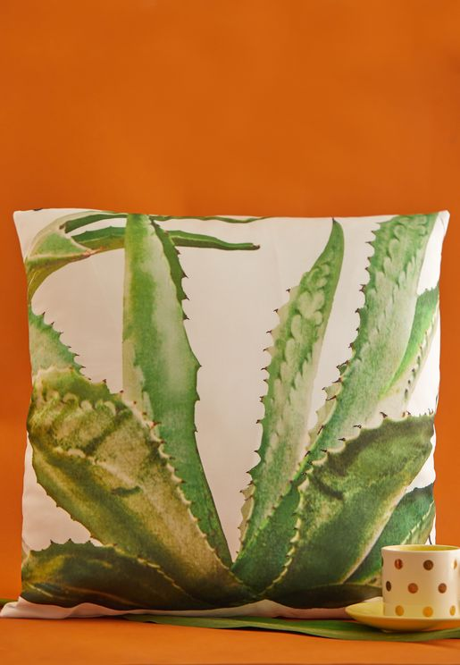 Aloe Vera Cushion With Insert