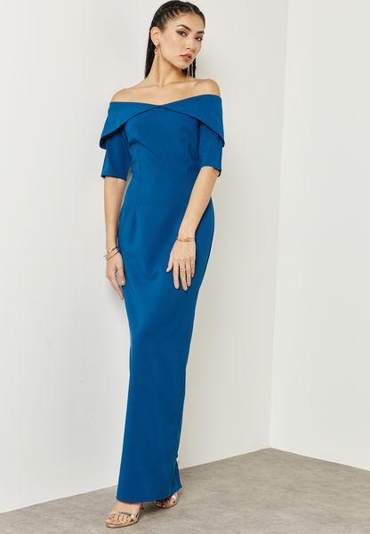 Bardot Detail Dress