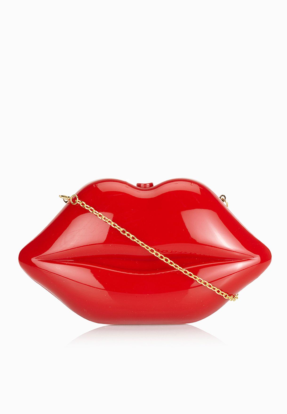 Lips Clutch