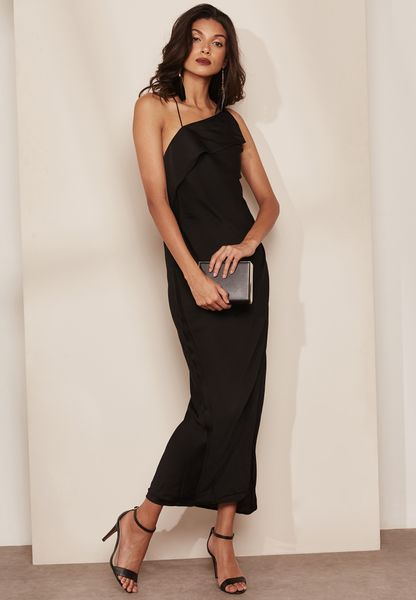 Side Split Wrap Maxi Dress