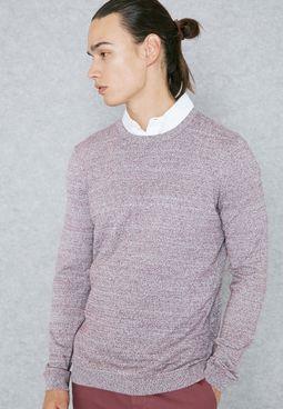 Side Twist Essential Sweater