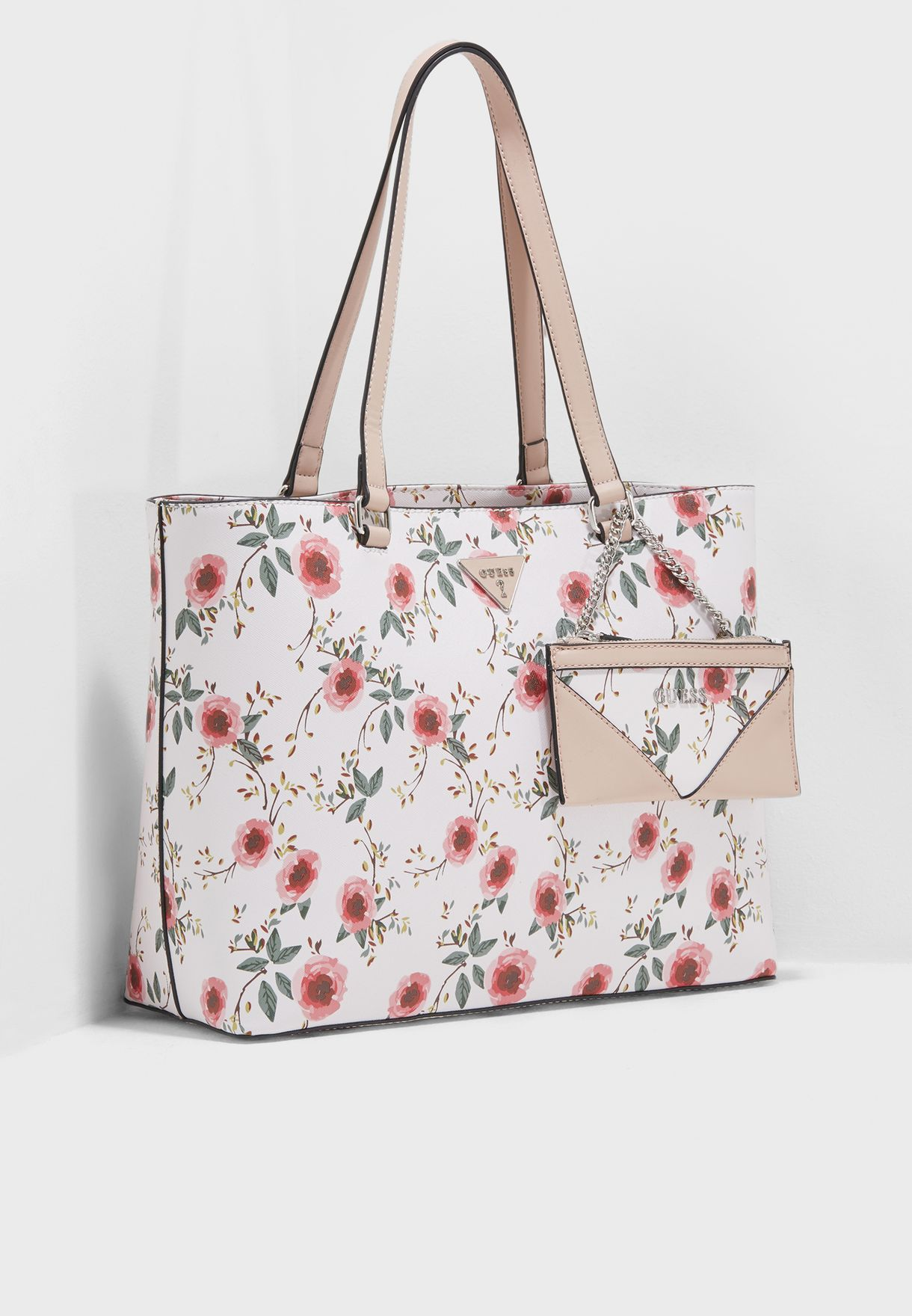 1207a505d4ed Shop Guess prints Circlewood Tote PR656424WML for Women in UAE -  GU094AC60ZFN