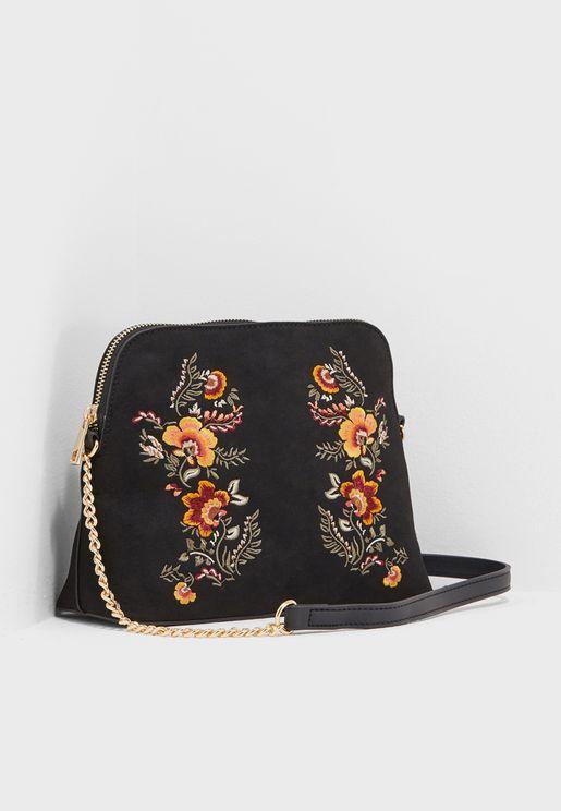 Tara Vintage Embroidered Crossbody
