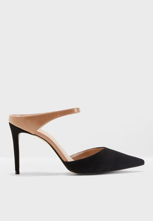 Agnes Heeled Pumps