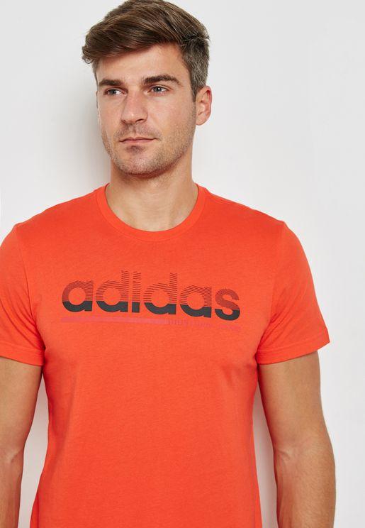 Fading Linear T-Shirt