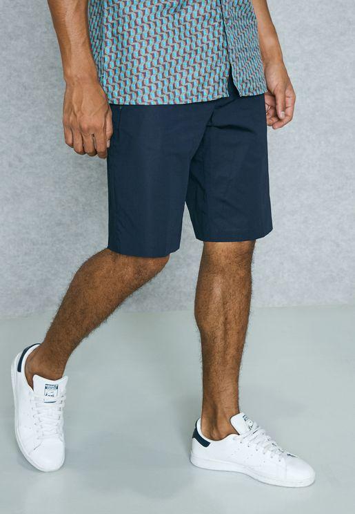 Stretched Bermuda Shorts