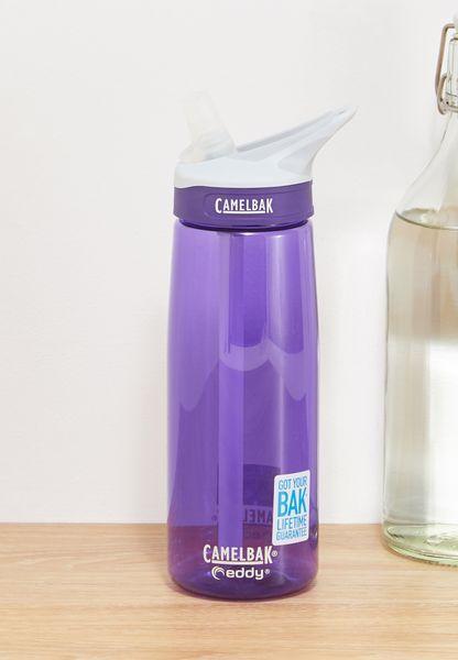 قارورة مياه بطبعة شعار الماركة 750 مل