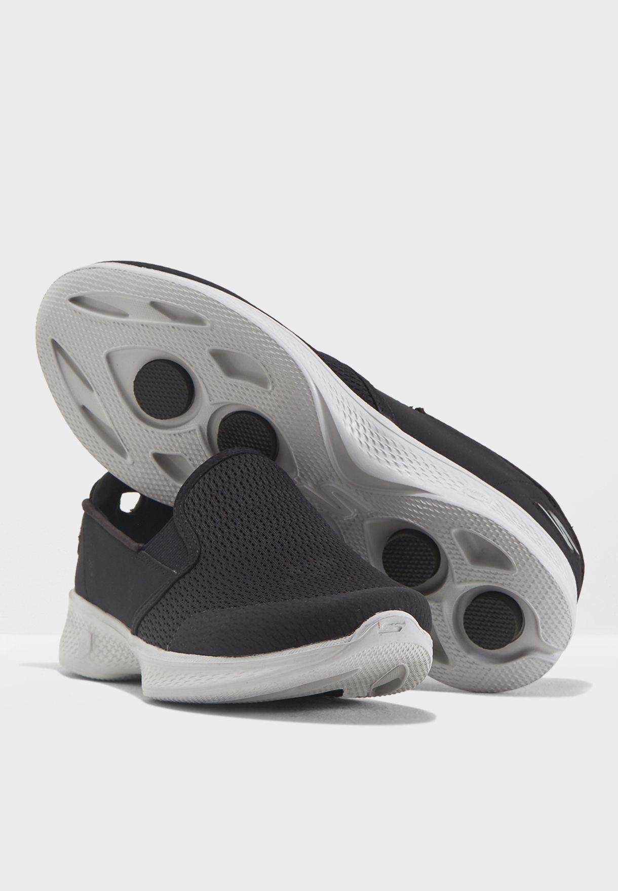Buy Skechers black Go Walk 4 - Attuned