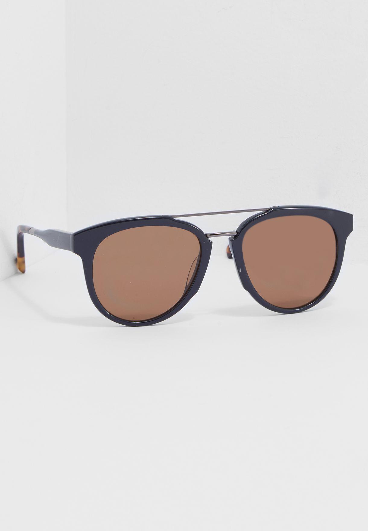 df3cd4f9d75 Shop Salvatore ferragamo navy Casual Sunglasses SF865S-414 for Men in Kuwait  - SA277AC60UTJ