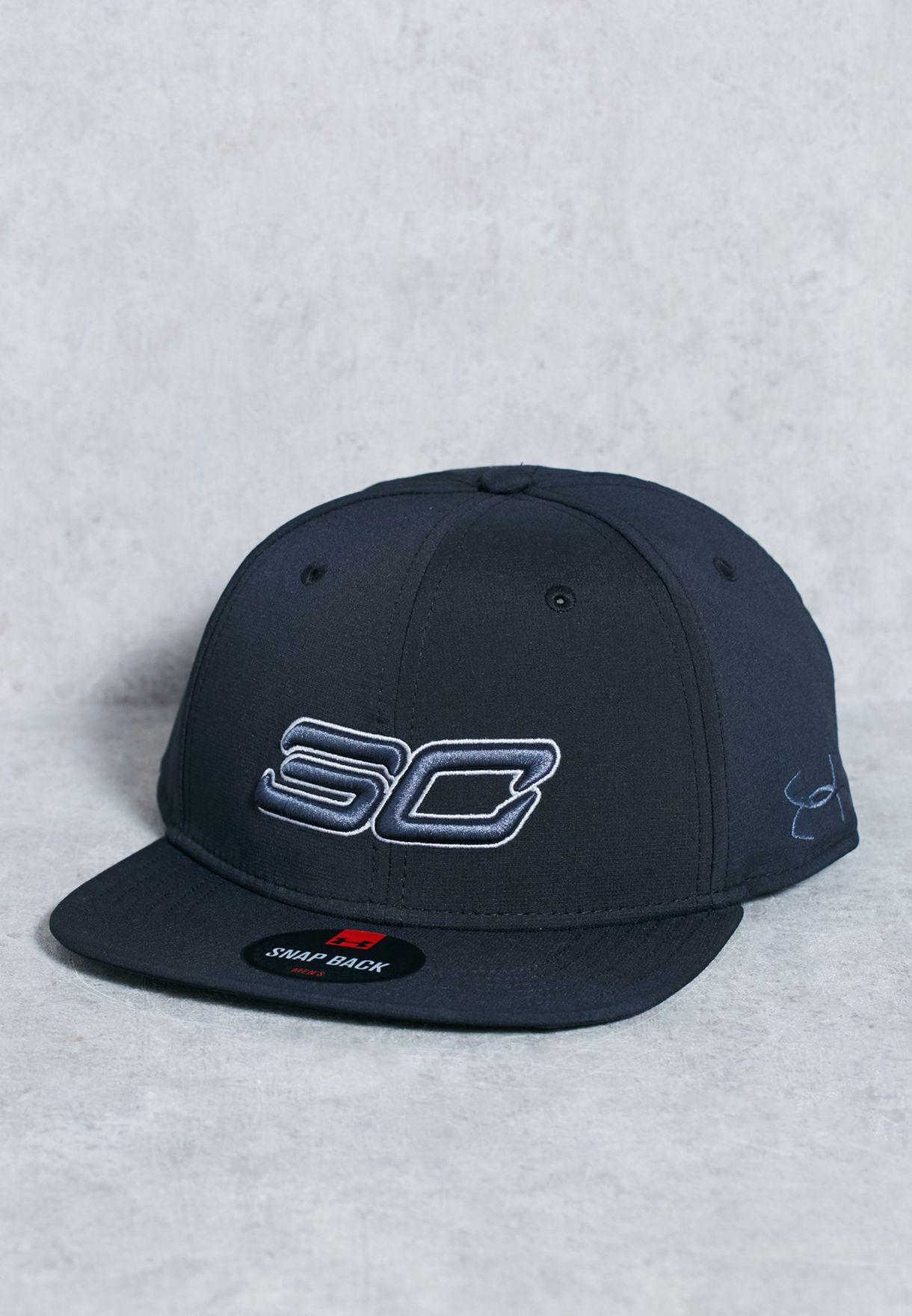 c295bce5c60 Shop Under Armour black SC30 Core Cap 1286973-001 for Men in UAE ...