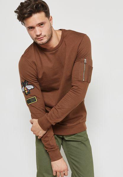 Sverre Bee Print Sweatshirt