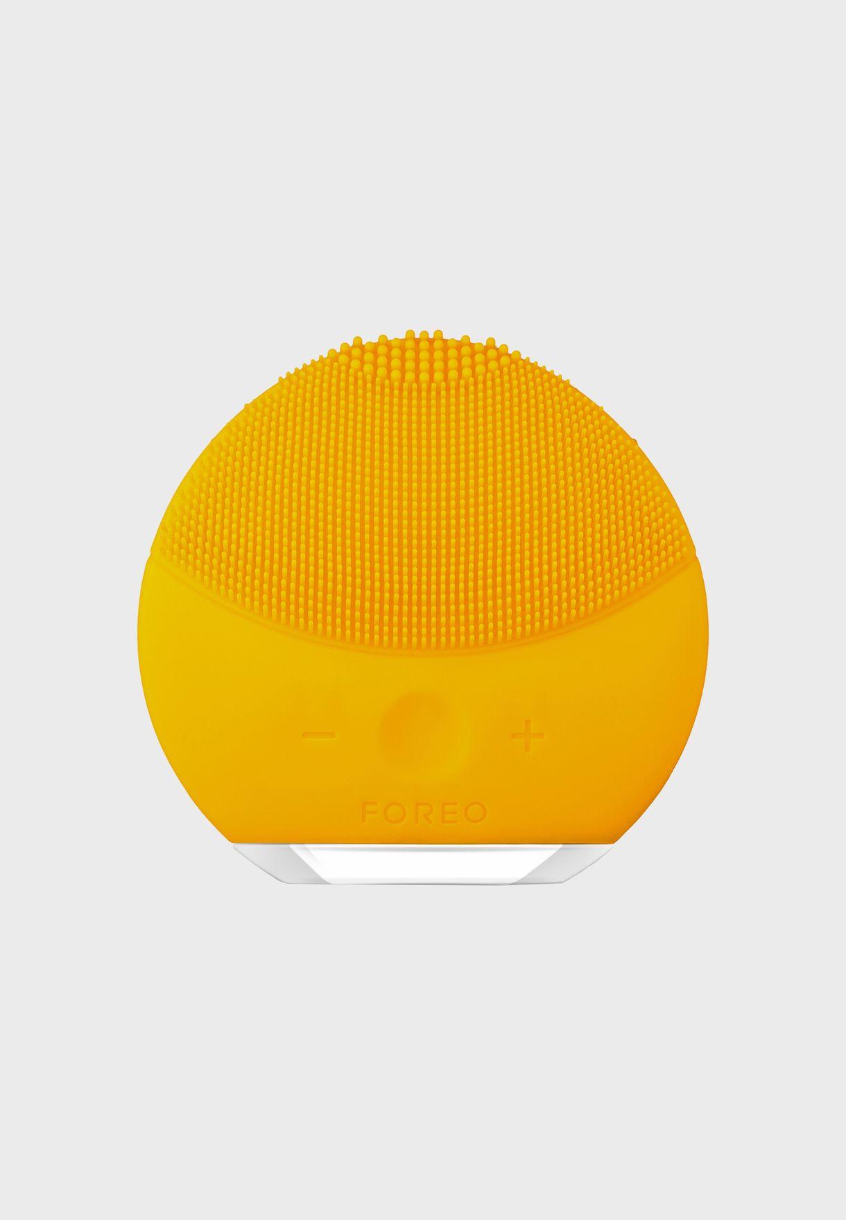 LUNA mini 2 Facial Cleansing Brush - Sunflower Yellow
