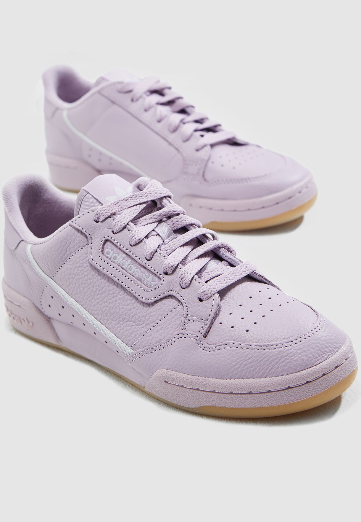 b006e9b6c Shop adidas Originals purple Continental 80 G27719 for Women in ...