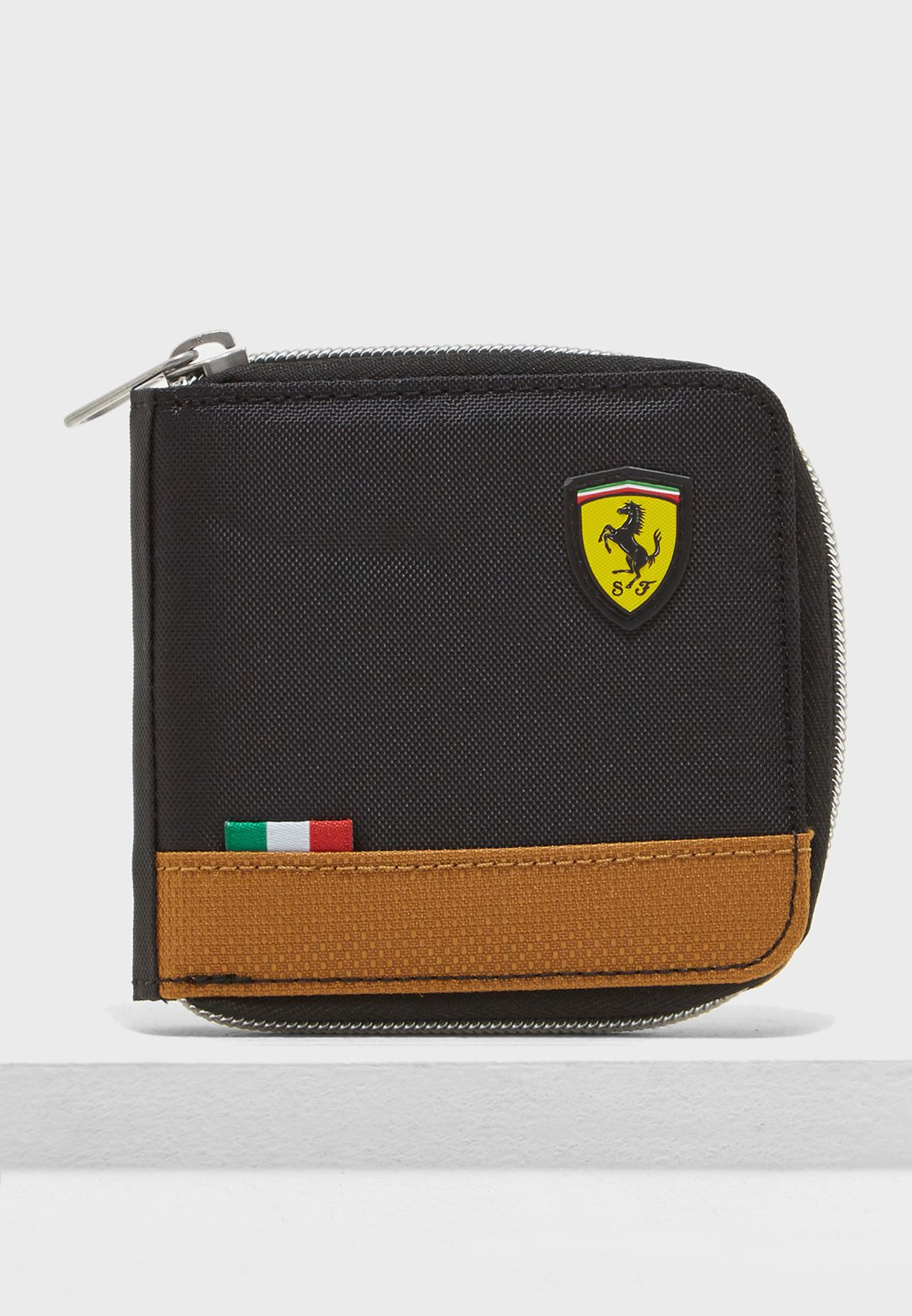 57b2b41833 Shop PUMA black Ferrari Fanwear Wallet 5347002 for Men in UAE ...