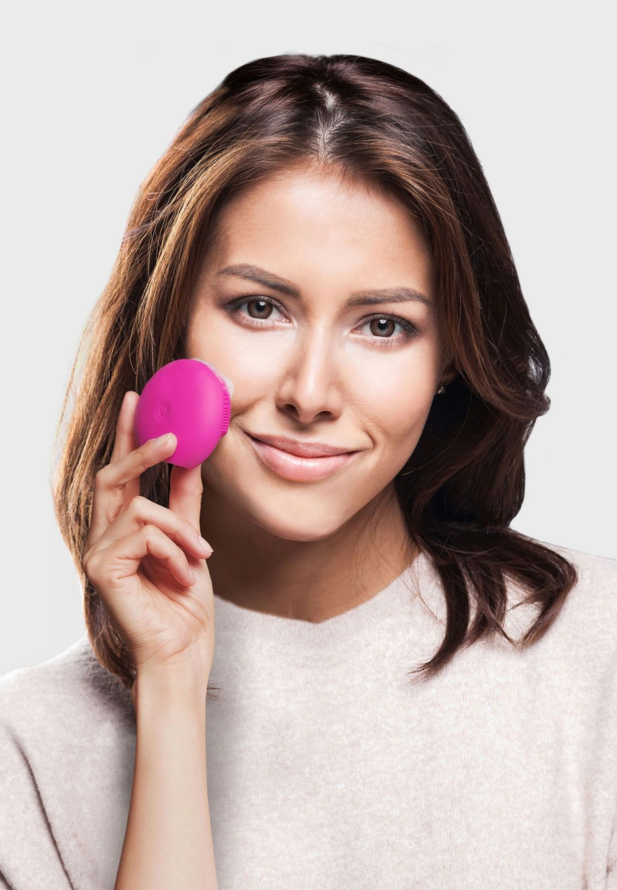 LUNA play plus Facial Cleansing Brush - Fuchsia