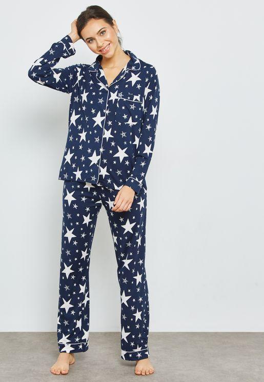 Sparkle AOP Pyjama Set