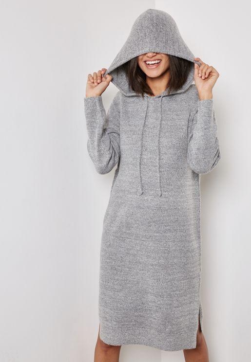Hooded Sweat Dress