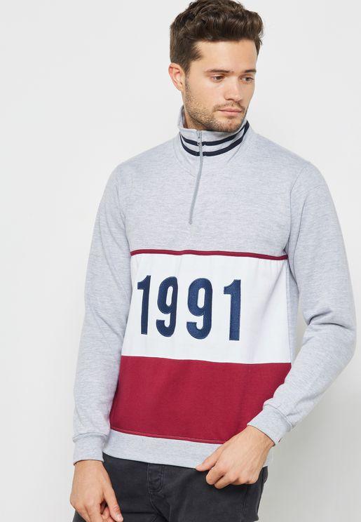 1991 Colourblock Sweater
