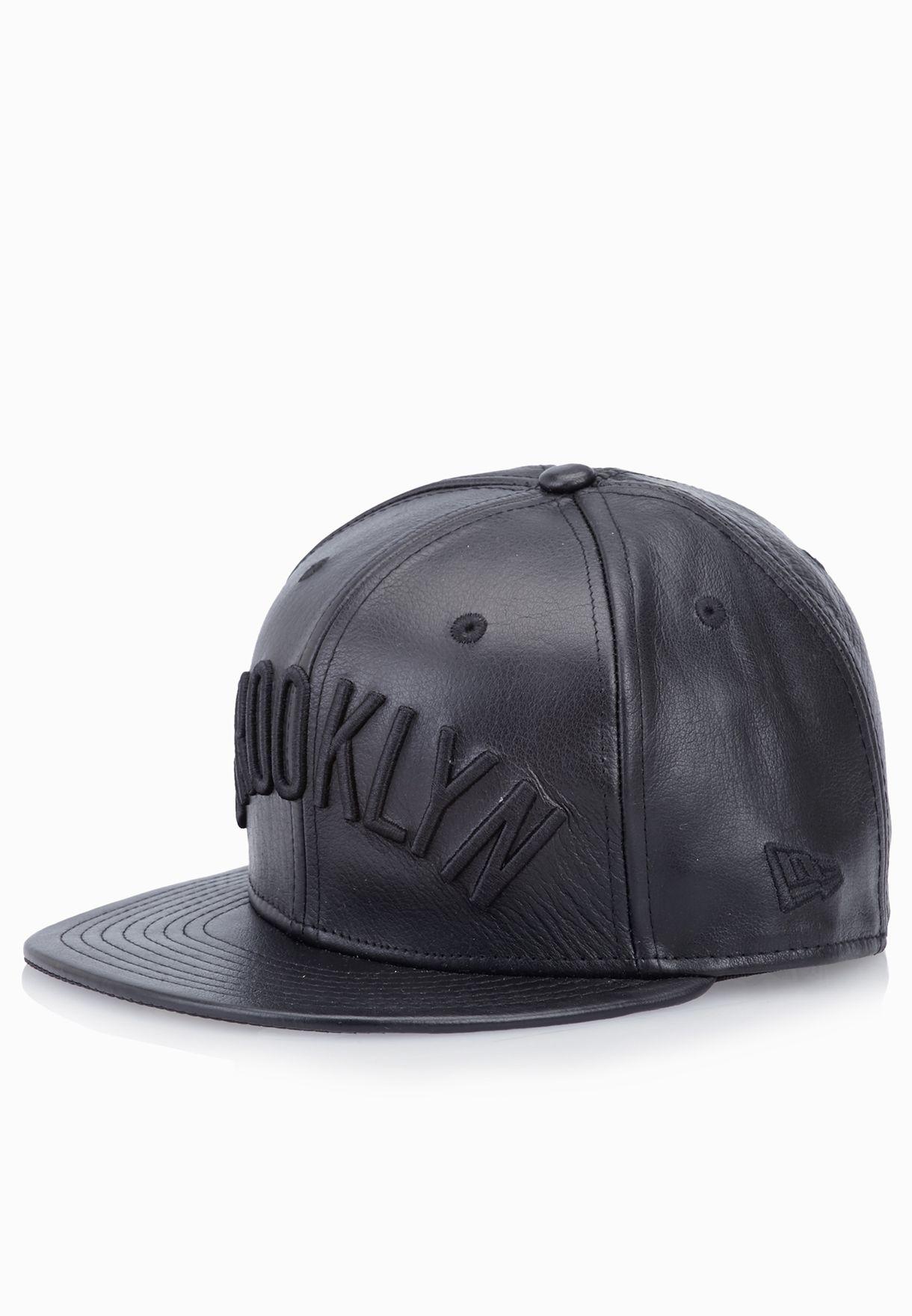 de0a1e059a8 Shop New Era black 59Fifty Brooklyn Nets Snapback for Men in UAE ...