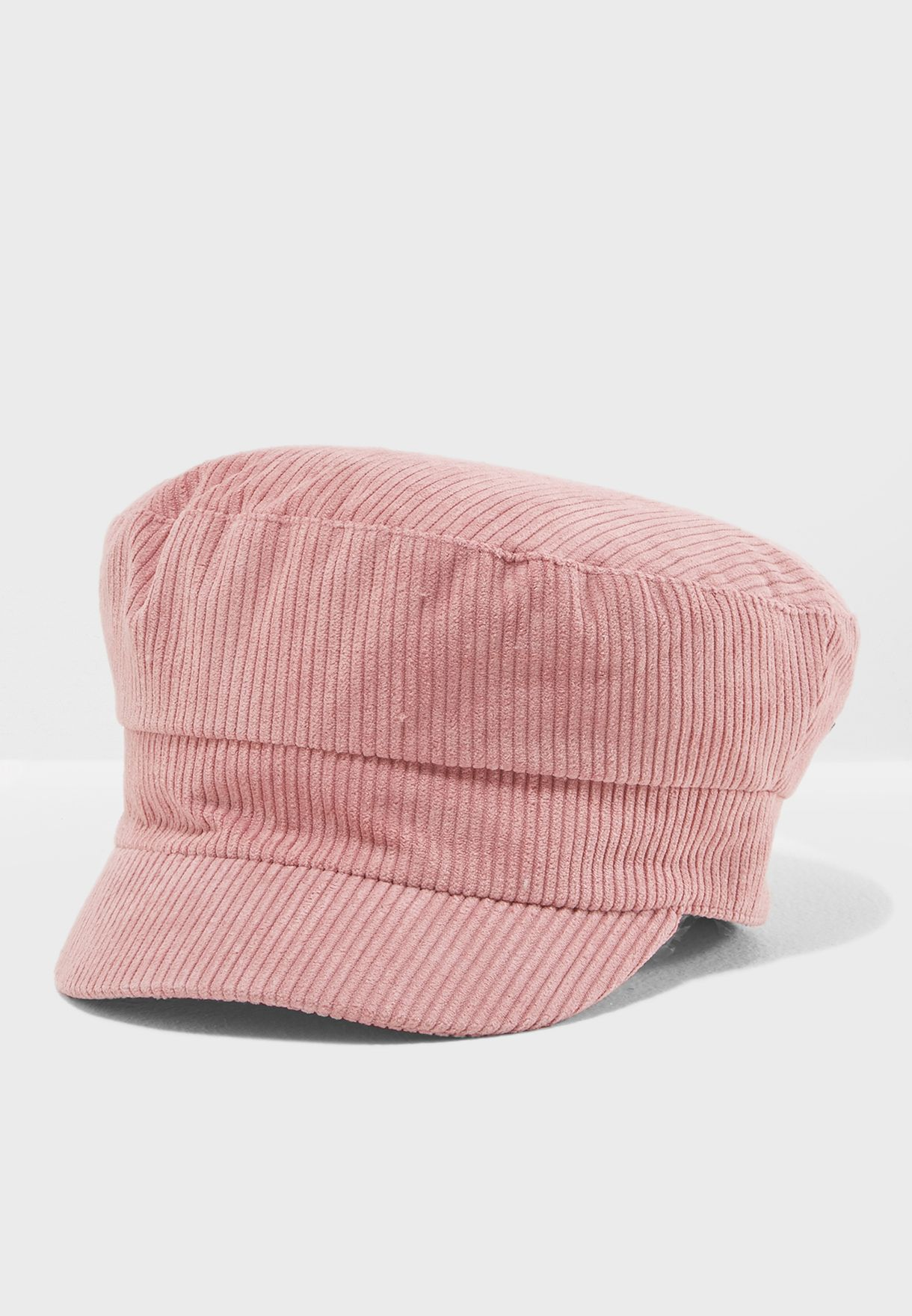 7e67a175cbb Shop Topshop pink Cord Baker Boy Hat 19K53MBLS for Women in Saudi -  TO856AC60AAT