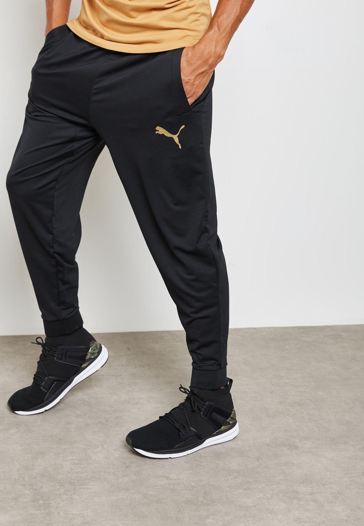 8e753dbc392c Shop PUMA black Tech Fleece Sweatpants 51657501 for Men in Bahrain -  PU020AT60INB