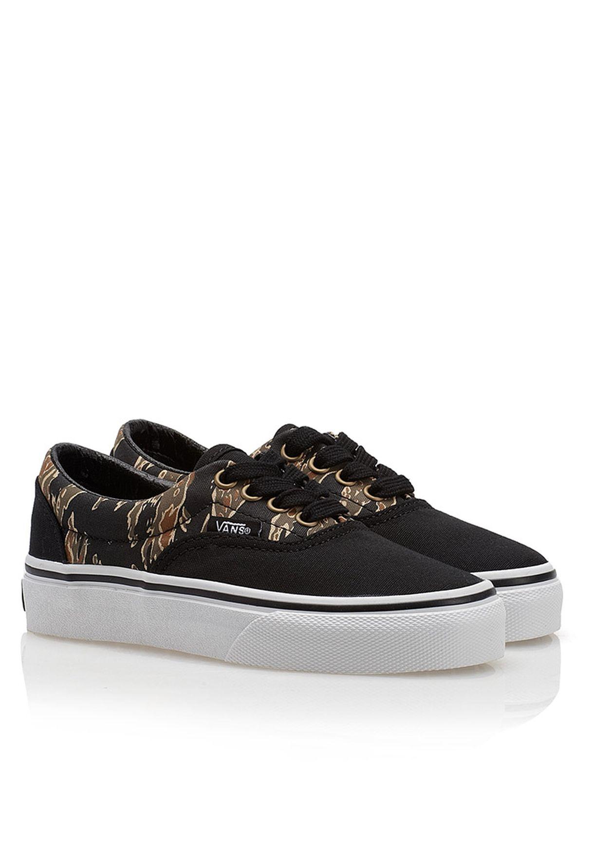 d95c462627 Shop Vans black Era Sneakers for Kids in Qatar - VA088SH60XKD