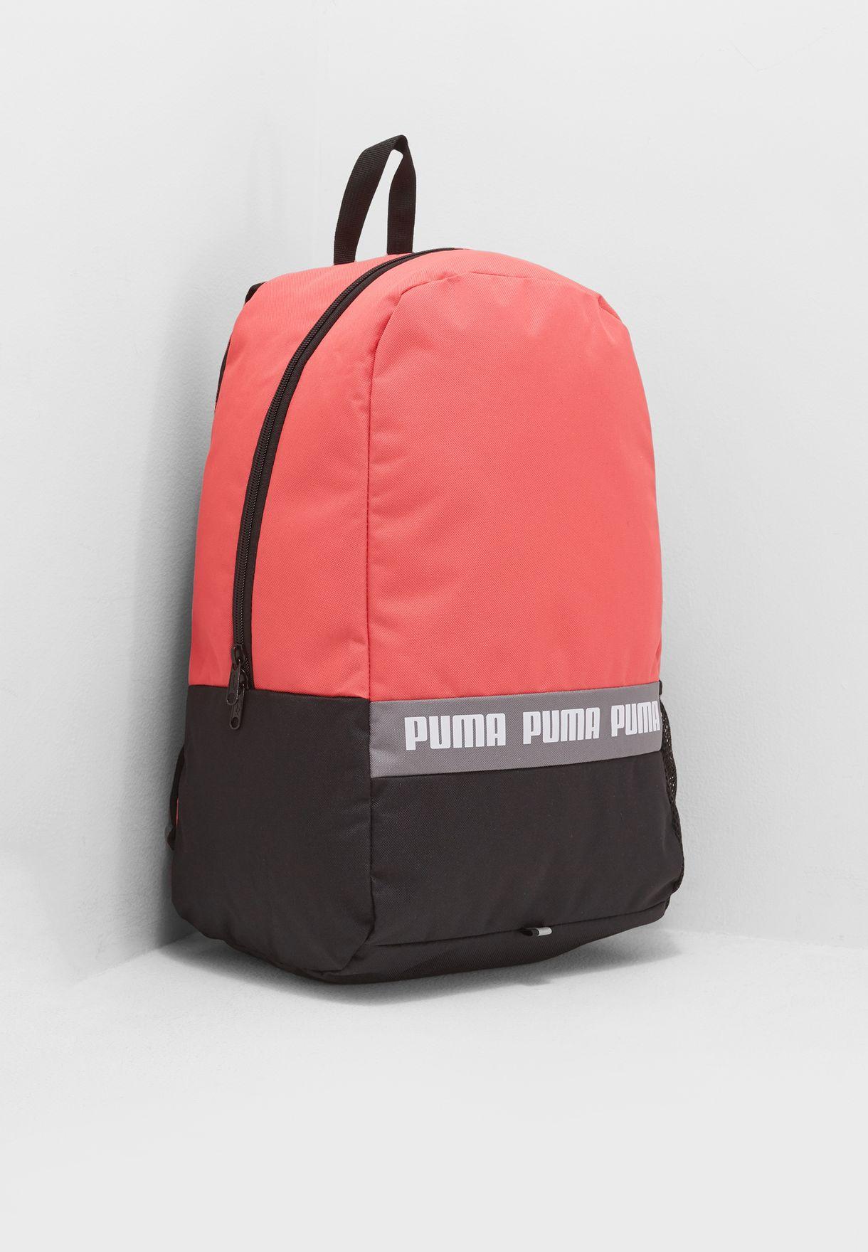 fbcaf59b30 Shop PUMA pink Phase Backpack 07510603 for Women in Qatar - PU020AC60YSD