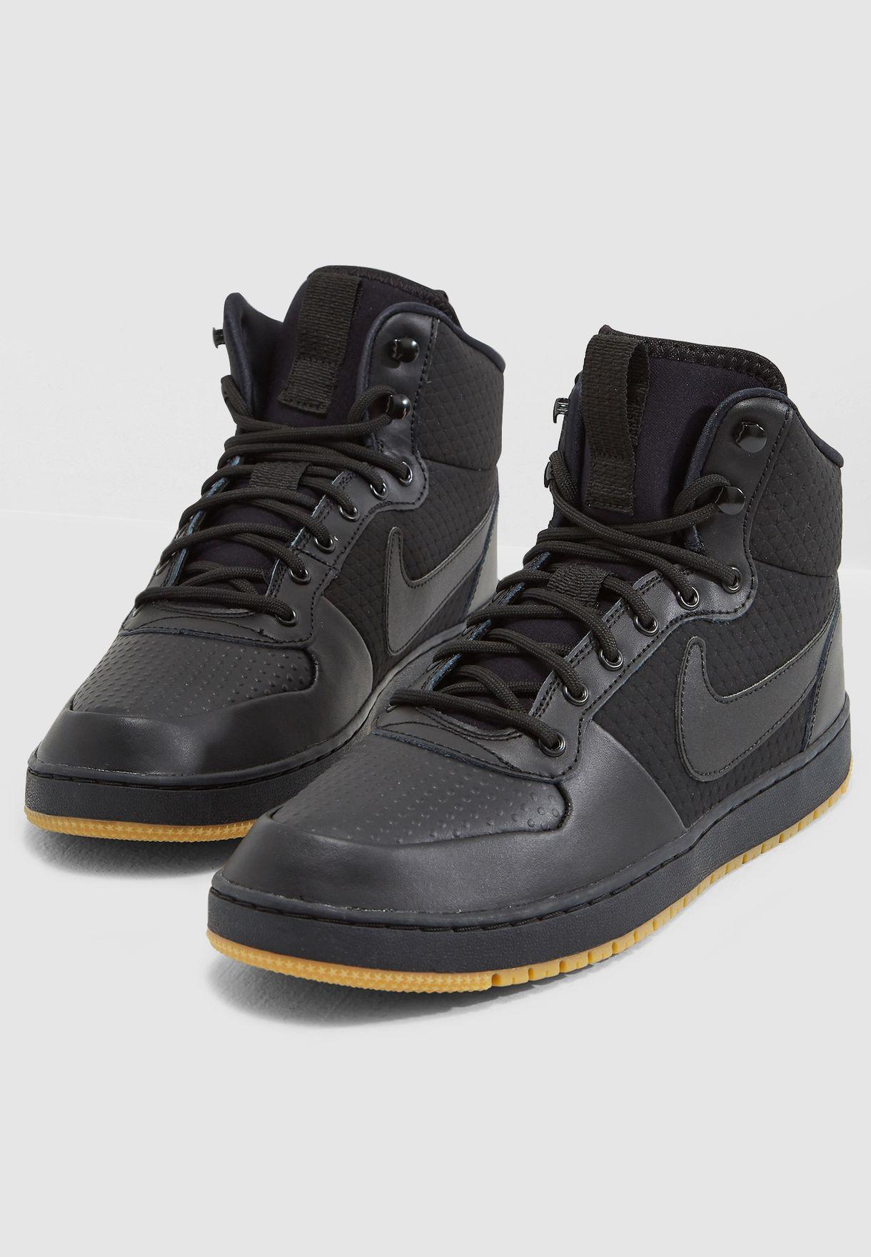 Shop Nike black Ebernon Mid Winter AQ8754-001 for Men in UAE ... 108f414a2e