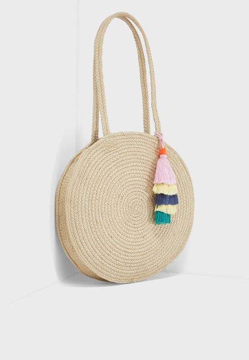 Draka Straw Bag