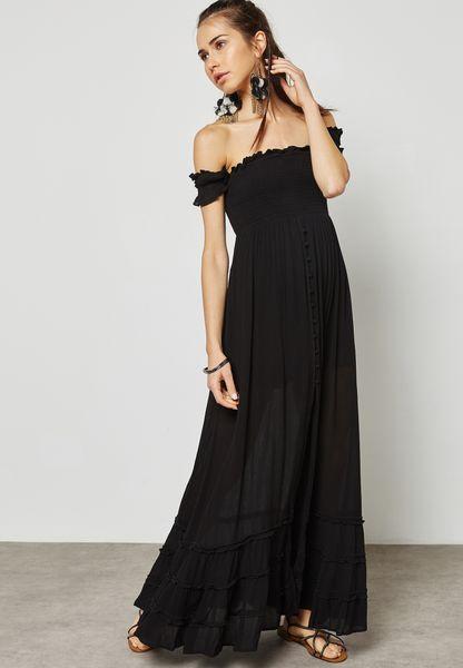 Bardot Maxi Dress