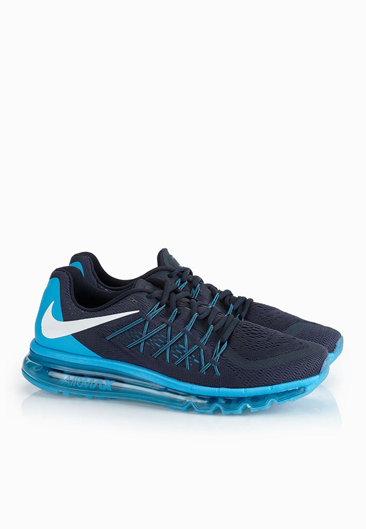 85aa772b34 Shop Nike blue Air Max 2015 698902-402 for Men in Kuwait - NI727SH60ZOT