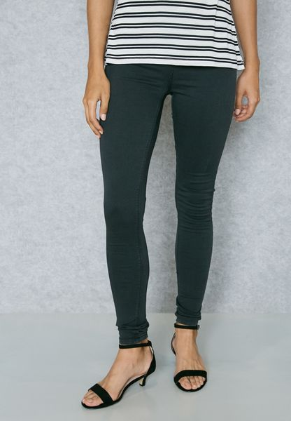 Black high waisted skinny jeans dorothy perkins