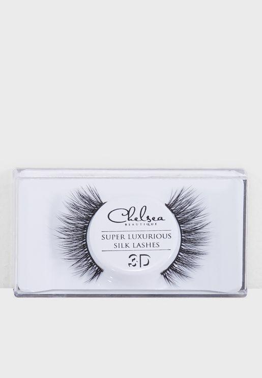 3D Silk Strip Lashes - Alice