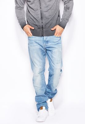 G-Star Raw 3301 Mid Wash Tapered Jeans