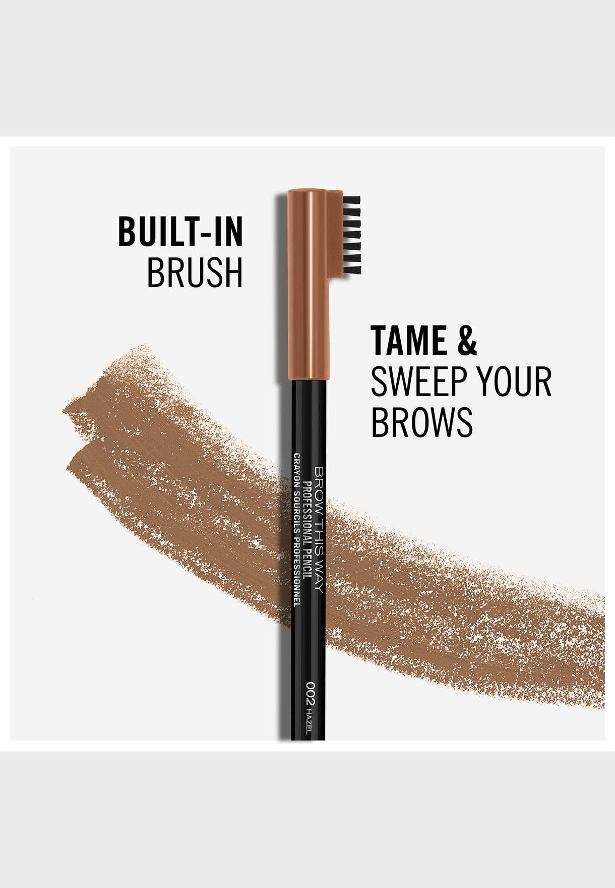 Professional Eyebrow Pencil- 002 Hazel