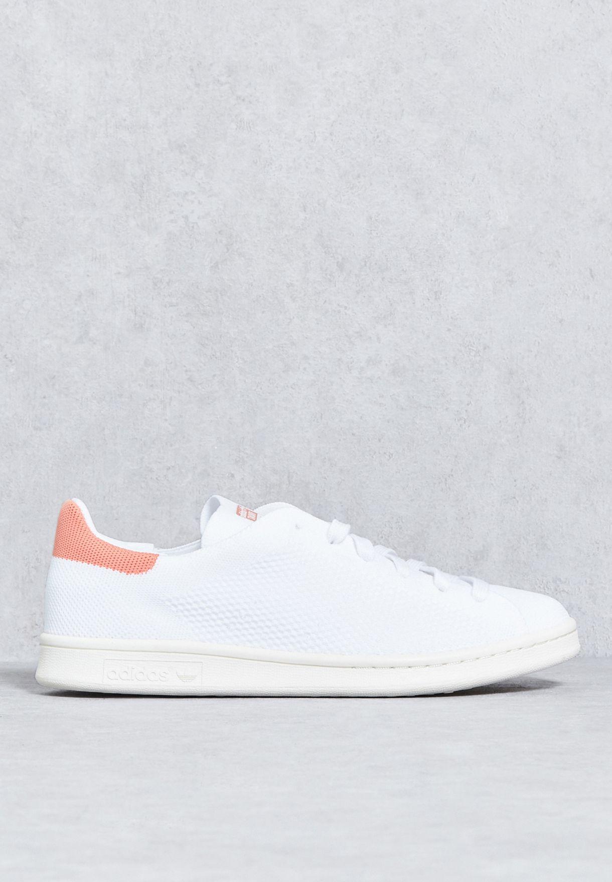 b3bc7b8e2 تسوق حذاء ستان سميث بي كيه دبليو ماركة اديداس اورجينال لون أبيض ...