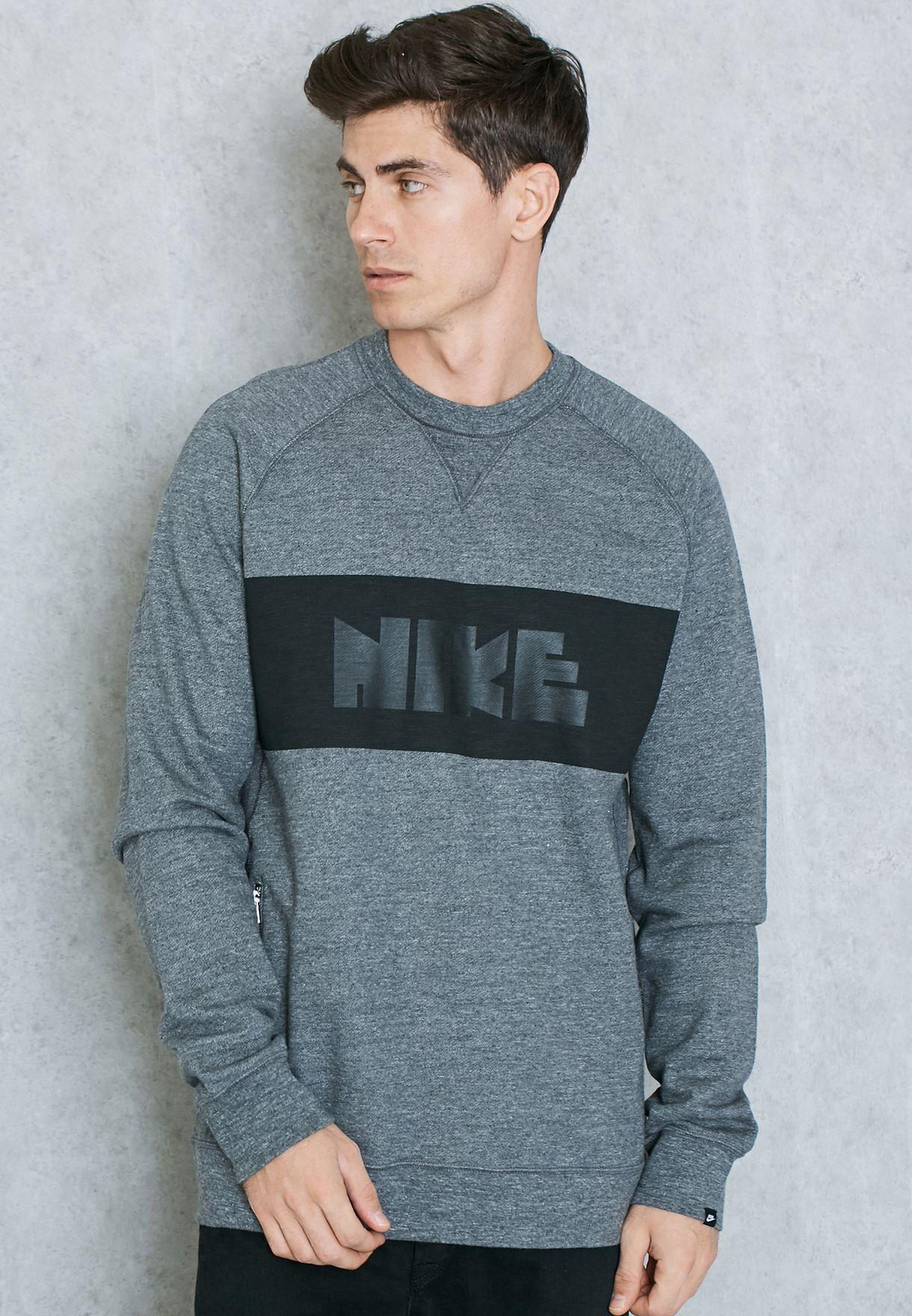 Grey Men 807489 Shop 071 Oman For Legacy In Nike Sweatshirt 5gqU7vfOw