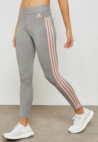 Shop adidas grey Essential Linear Sweatpants CZ5737 for Women in UAE ... be7a156d146