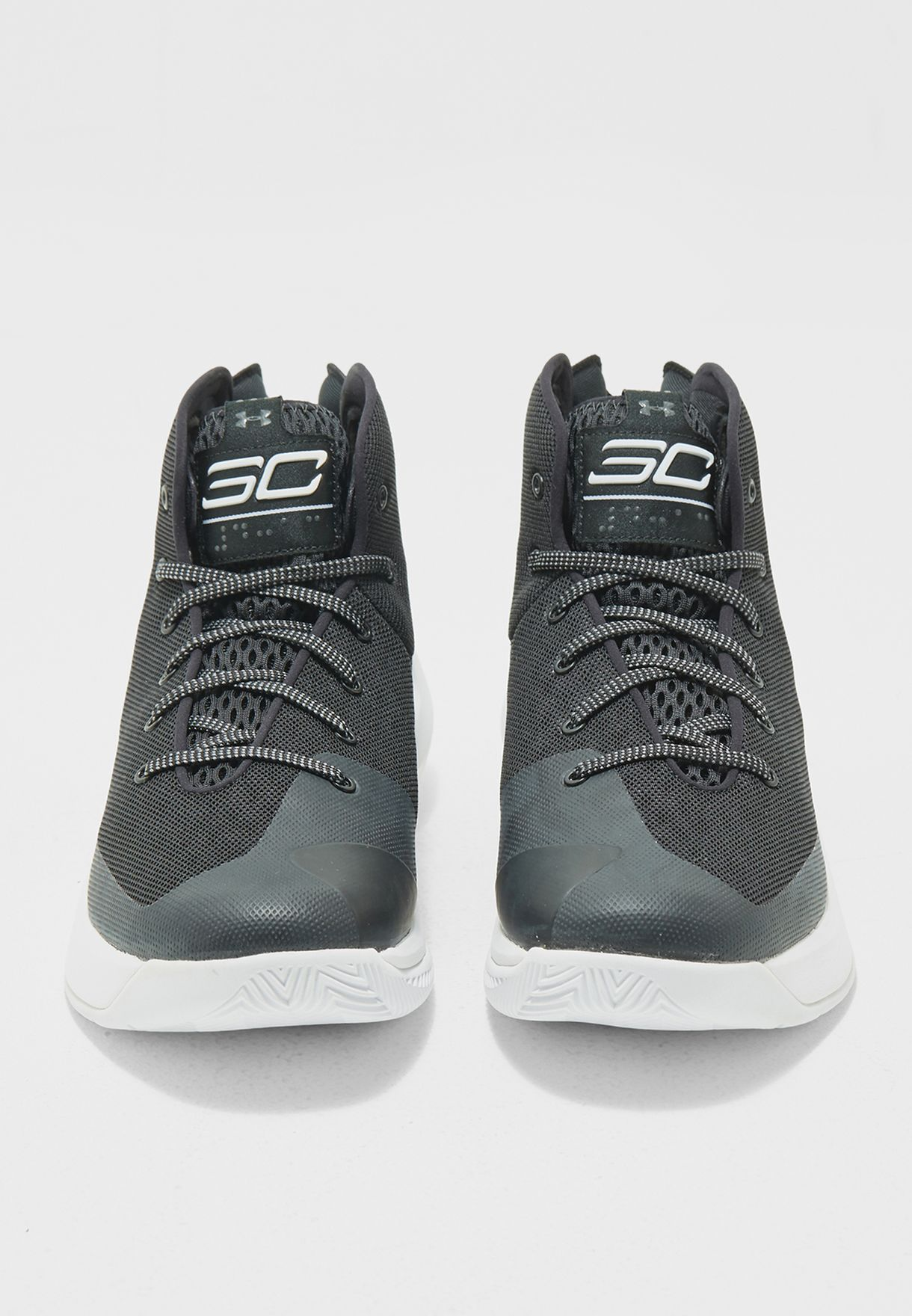 8db14bd1954c Shop Under Armour black Curry 3.5 1298308-001 for Men in UAE ...