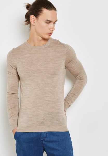 Merino Muscle Fit Sweater