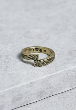 Large Twisted Soul Ring
