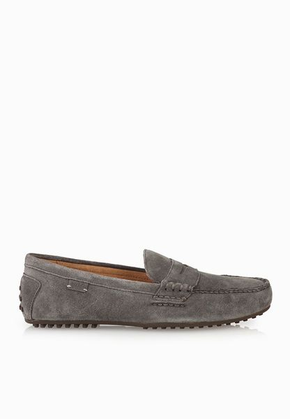 Shop Polo Ralph Lauren grey Wes E Slip Ons A91Y2138REDIFA0037 for Men in  UAE  PO013SH60NUX