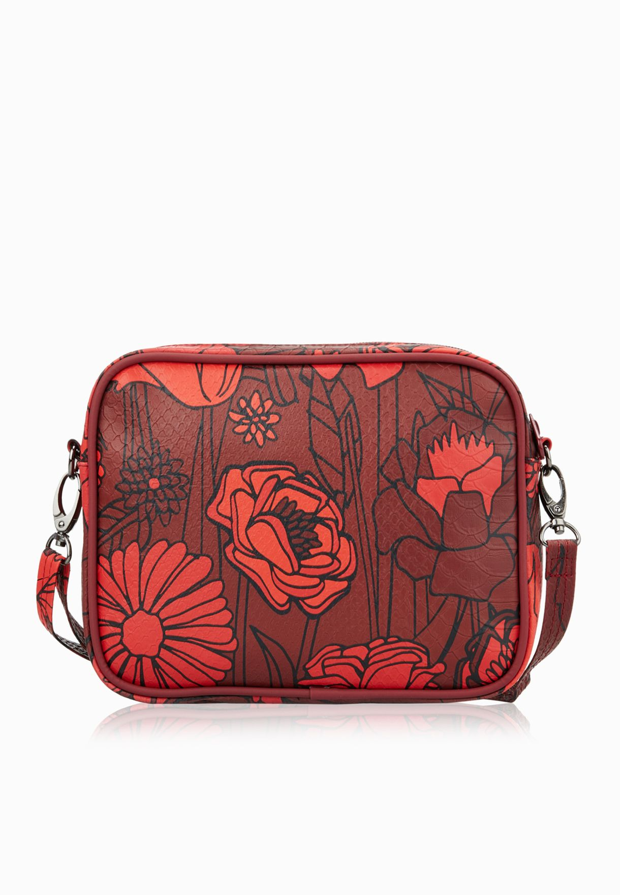 Shop adidas Originals red Airliner Clutch AY9329 for Women in UAE ... a26a650bd6276