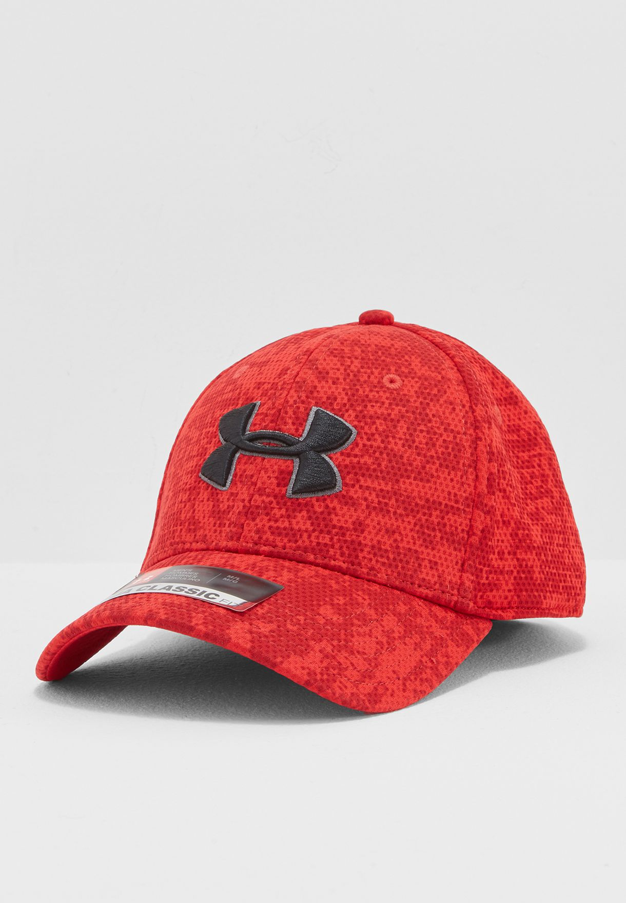 NEW FAST FREE SHIPPING UNDER ARMOUR MENS BLITZING CAP RED SIZE MEDIUM//LARGE