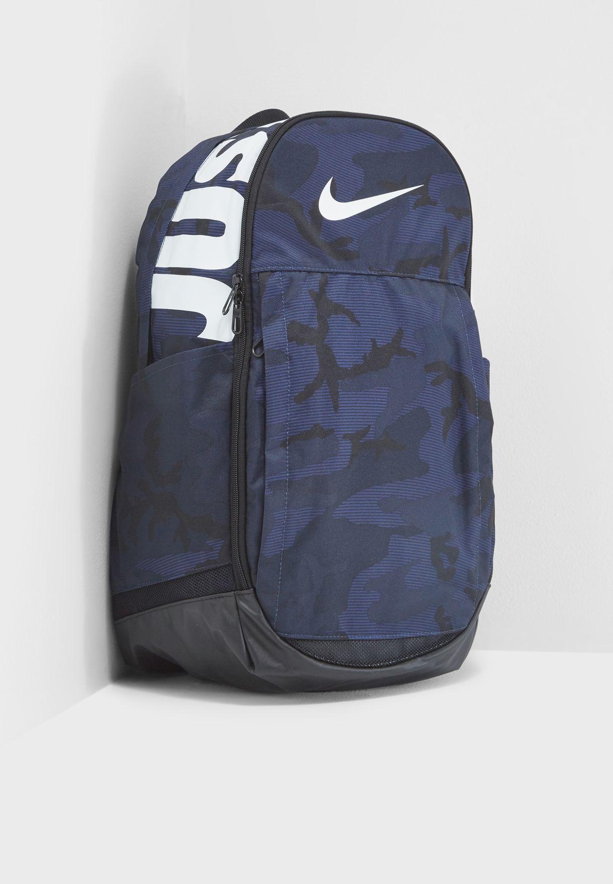 Shop Nike navy Brasilia XL Backpack BA5482-451 for Men in UAE ... 3f37146a6e15c