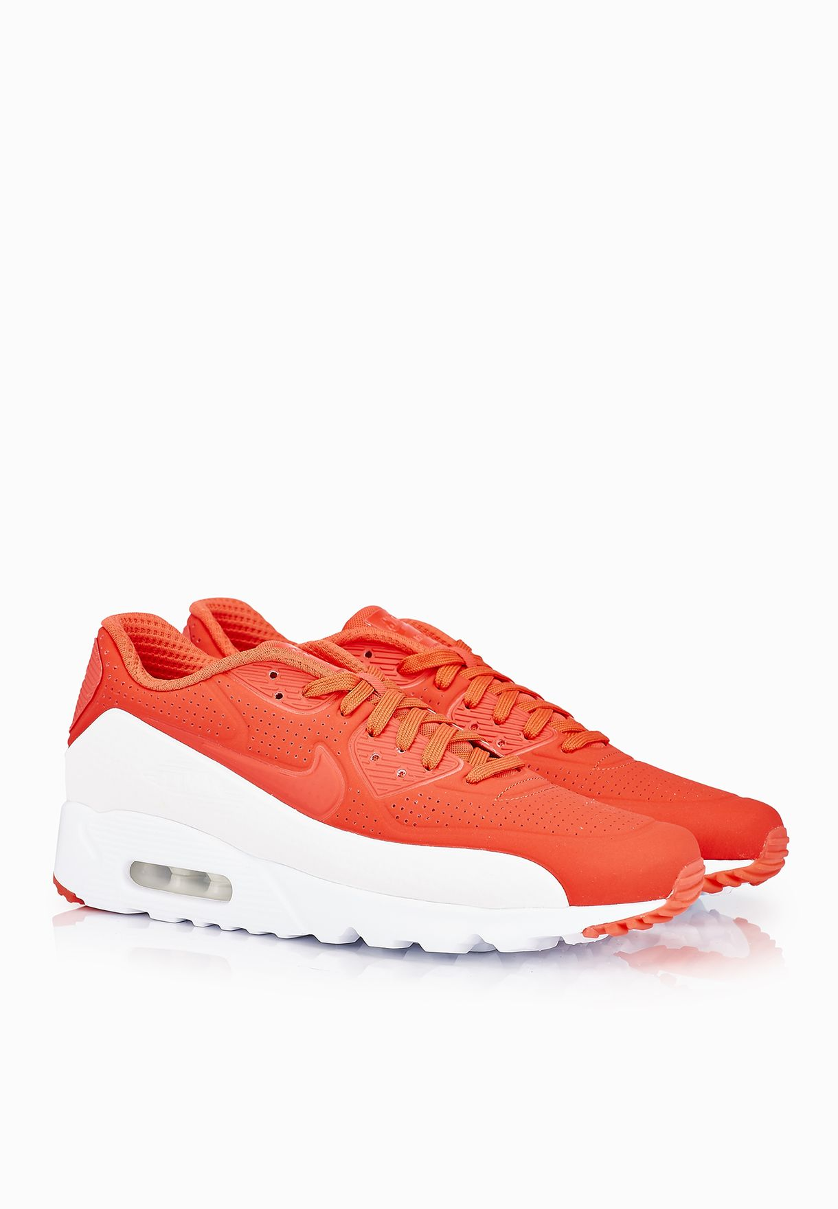 Men's Nike Air Max 90 Ultra Moire shoe in Red 819477 611