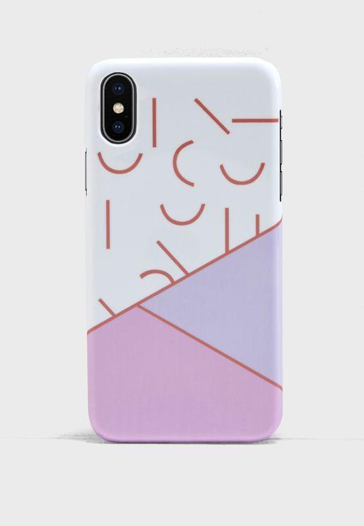 Block Colour iPhoneX Case